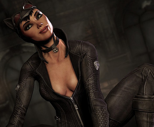 Catwoman Clevage