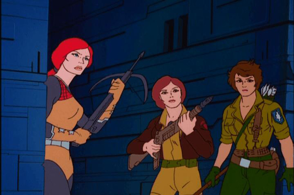 "Scarlett, Cover Girl, and Lady Jaye from ""Spell of the Siren"""